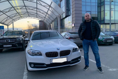 Осмотр перед покупкой автомобиля BMW 520d
